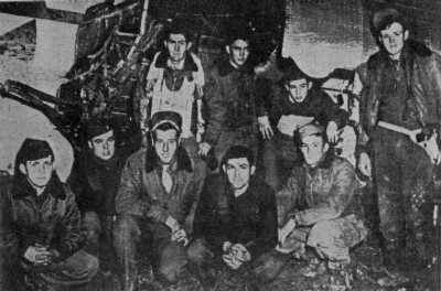 The nine survivors B-17 44-6259