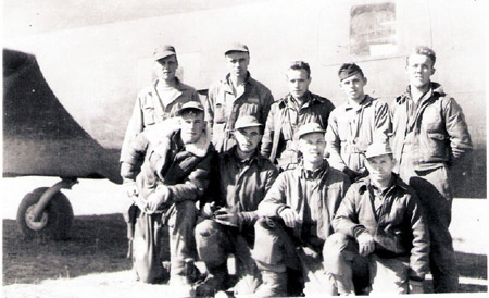 32nd Squadron Crew in early 1943. B-17 42-5233 Rigor Mortis