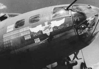 B-17 41-24418 Special Delivery II  (32nd)