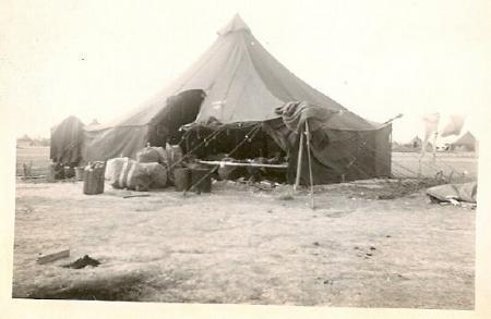Tent living in North Africa