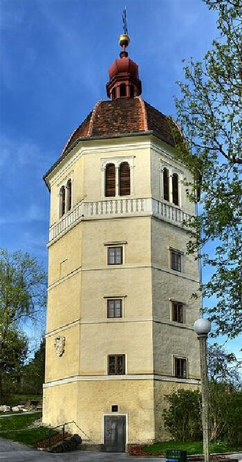 On top of the Schlossberg is the Bell Tower