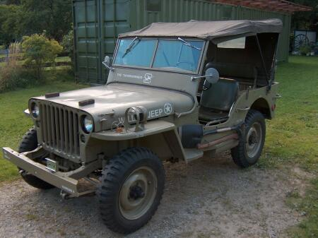Richard's WWII vintage Jeep takes him on his weekend searches for Crash Sites
