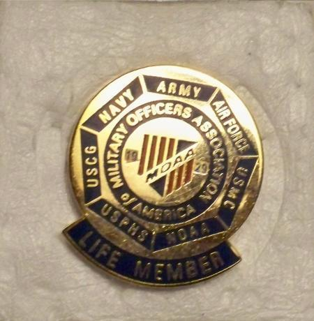 Military Officers Association of America Pin