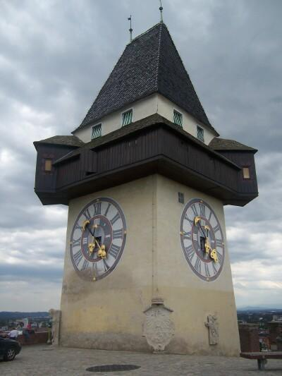 The Clock Tower was erected around 1560 and has struck the hour precisely since 1712