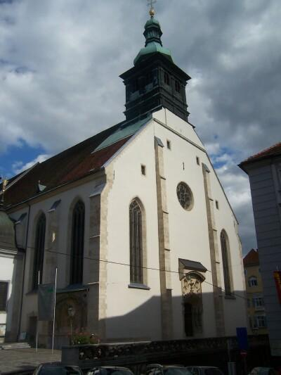 The Cathedral of Graz, errected in 1438.