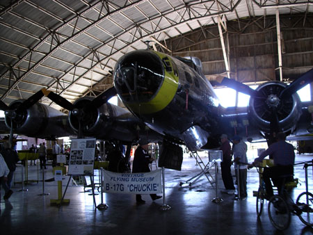 B-17 at Vintage Flying Museum in Ft. Worth