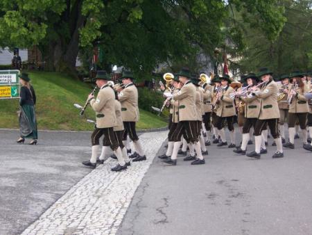 The Veterans Associations' of Austria second band parades by
