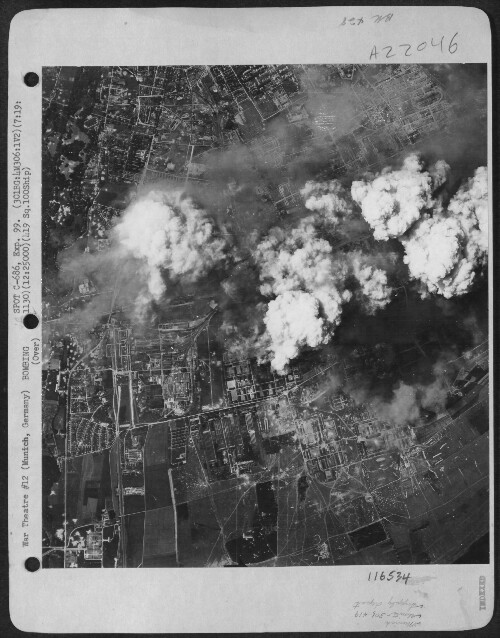 301st Bombardment Group Mission to Munich Germany  - ORD on 07/19/1944