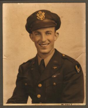 1st Lt. Harold E. Dixon - 301st BG, Army Air Corps Library and Museum