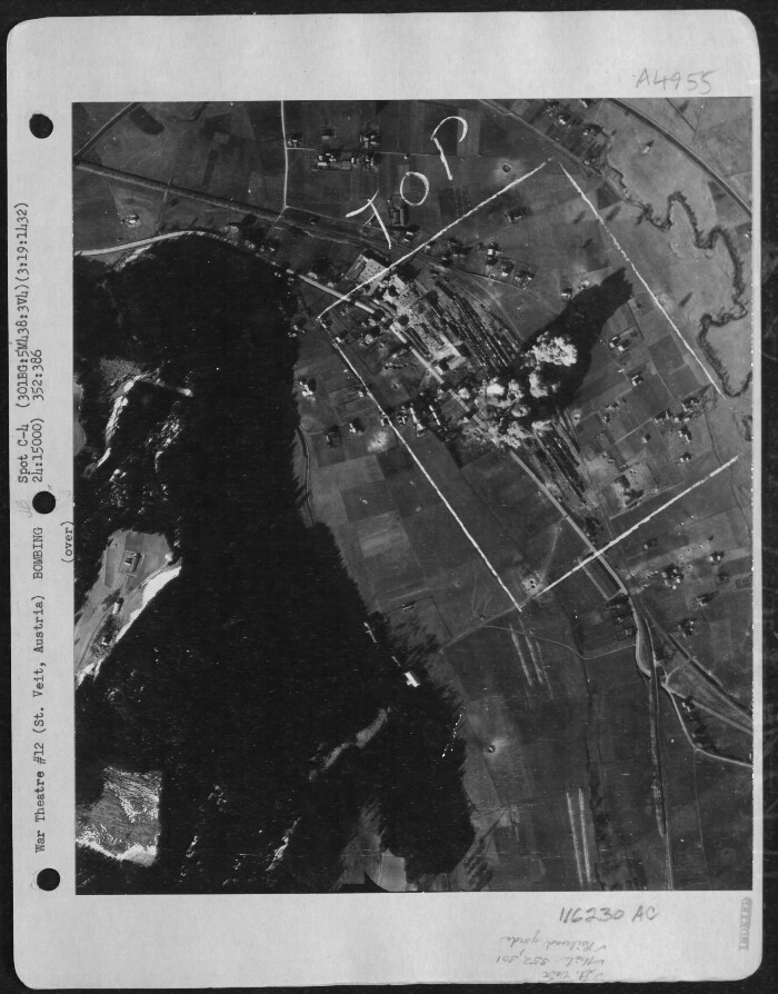 301st Bombardment Group Mission to Landshut  Germany  - MY on 03/19/1945