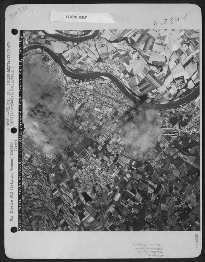 301st Bombardment Group Mission to Avignon  France  - MY on 05/27/1944