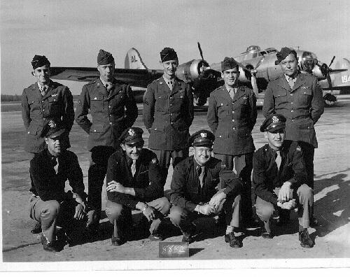 FRONT ROW - L to R: - 301st BG, Army Air Corps Library and Museum