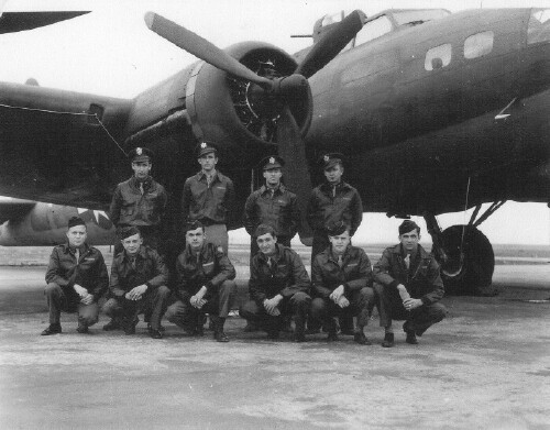 2nd Lt. Jess Coppedge back row - far left - 301st BG, Army Air Corps Library and Museum