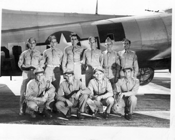 Crew 252, 11-24-1944, We are leaving this AM for Savannah at 9:14AM. - 301st BG, Army Air Corps Library and Museum