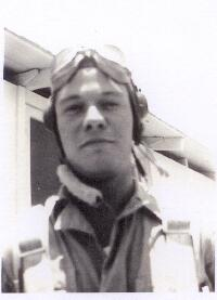 Bill in training - 301st BG, Army Air Corps Library and Museum