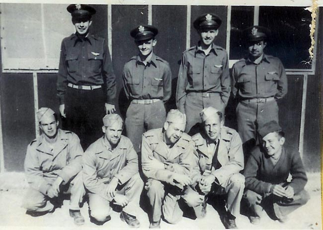 Bruce Graham 2nd from left - 301st BG, Army Air Corps Library and Museum