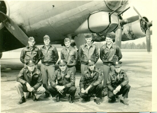 Back L to R: R. D. Mayse - 301st BG, Army Air Corps Library and Museum