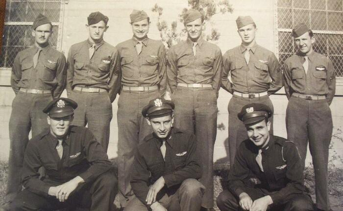 Back Row - left to right - 301st BG, Army Air Corps Library and Museum