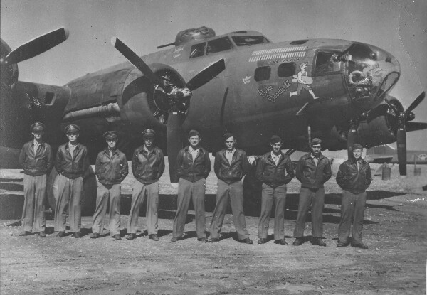 Crew of the Dickie Doodle II - 301st BG, Army Air Corps Library and Museum