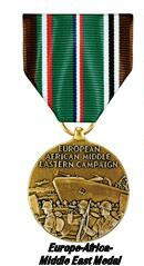European-African-Middle Eastern Campaign Medal - 301st BG, Army Air Corps Library and Museum