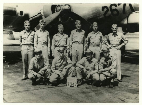 Flight Crew August 944 - 301st BG, Army Air Corps Library and Museum