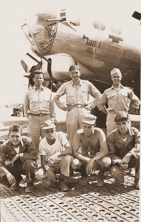Sgt. Province's crew in Italy. - 301st BG, Army Air Corps Library and Museum