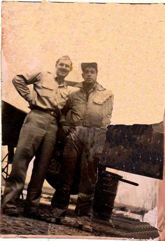 Sullivan met me at the plane on my last mission. - 301st BG, Army Air Corps Library and Museum
