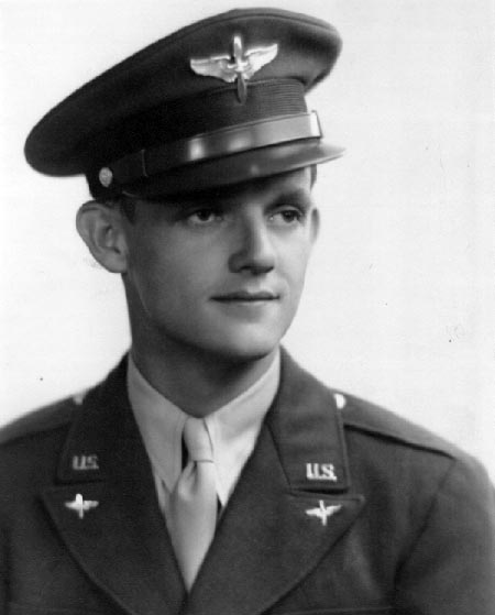 Bruce Graham as a Cadet in 1942 - 301st BG, Army Air Corps Library and Museum