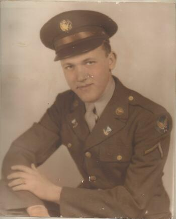 T/Sgt. Robert W Haglund - 301st BG, Army Air Corps Library and Museum