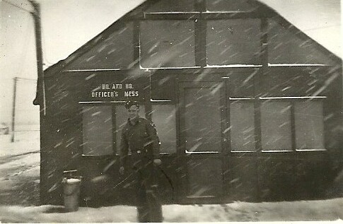 Sid at the Mess Hall - 301st BG, Army Air Corps Library and Museum
