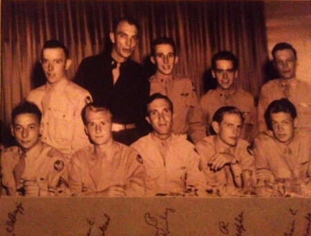 Photo taken September 22, 1944 from the Camellia Room in Hotel Savannah, Savannah, Georgia before moving to Italy