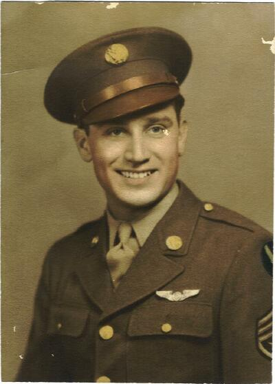 S/Sgt. Walter G Haberberger - 301st BG, Army Air Corps Library and Museum