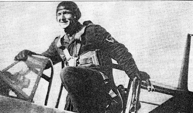 Gustav Sturm at the JFS Furth ( Fighter Pilot Training ) - 301st BG, Army Air Corps Library and Museum