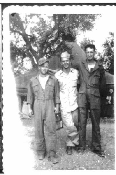 Rulon,  Chesbro and Joe Davis - 301st BG, Army Air Corps Library and Museum